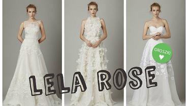Subtelne i dziewczęce suknie ślubne Lela Rose. Zobacz lookbook z kolekcję na sezon jesień-zima 2016/2017