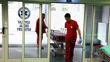 Wejście do Szpitalnego Oddziału Ratunkowego