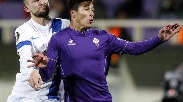 Fiorentina - Lech Poznań 1:2 w Lidze Europejskiej