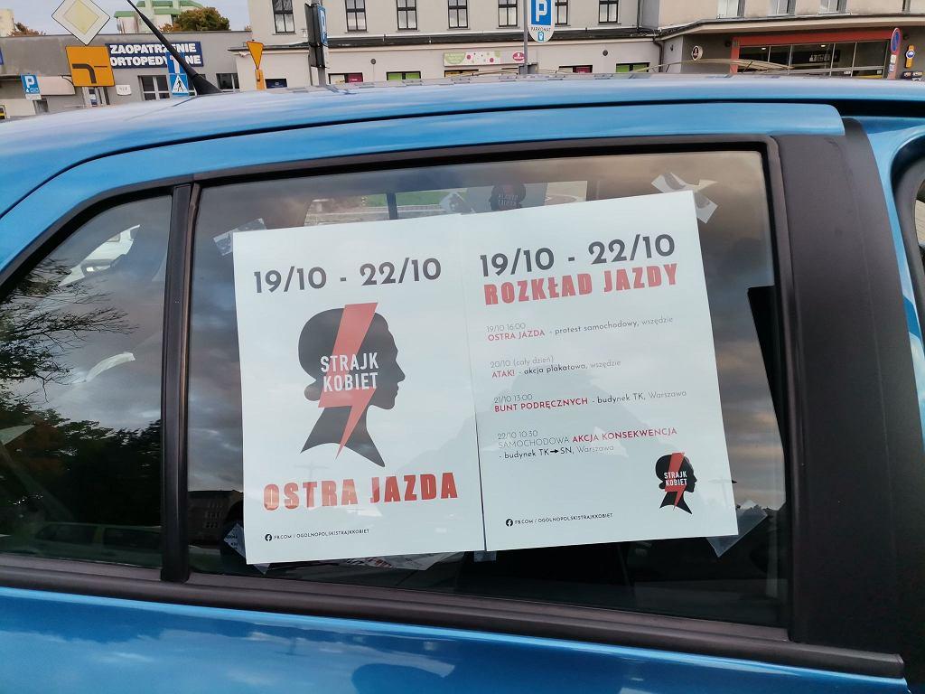 Ostra Jazda. Protest w Elblągu.
