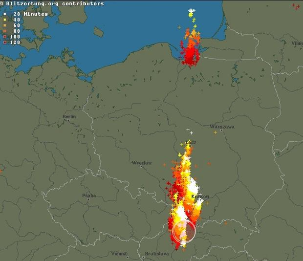 Front burzowy nad Polską
