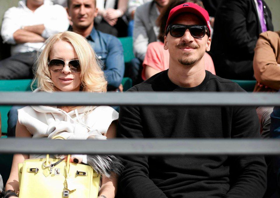 Zdjęcie numer 1 w galerii - Roland Garros. Zlatan Ibrahimović, Hugh Grant... Kto jeszcze odwiedził korty? [ZDJĘCIA]