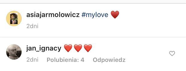 Jan Królikowski skomentował nowe zdjęcie Asi Jarmołowicz z ich synkiem