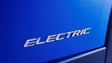 Lexus - pierwszy model elektryczny