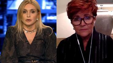 Kropka nad i, zrzut ekranu - Monika Olejnik, Jolanta Kwaśniewska