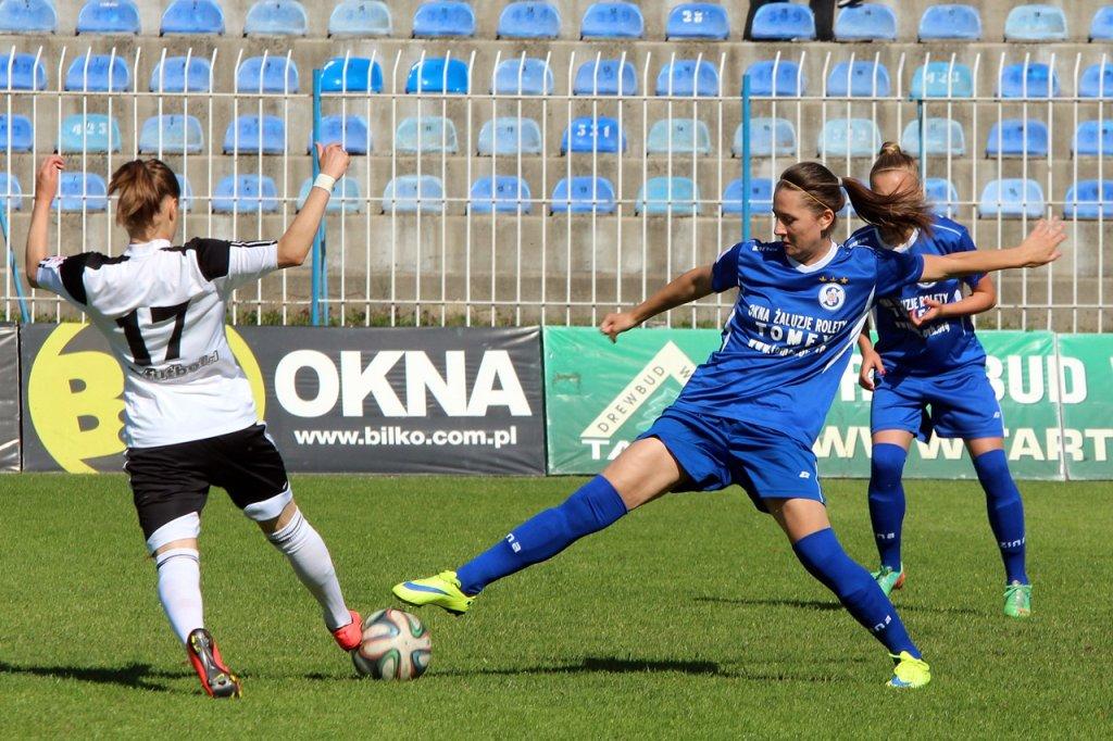 Ekstraklasa piłkarek nożnych: TKKF Stilon Gorzów - Medyk Konin 1:7 (0:3)