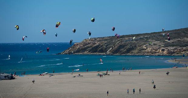 Zakończenie sezonu kitesurfingowego Ford Kite Cup 2013