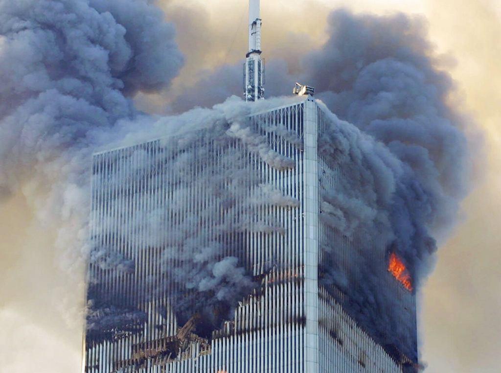 Północna wieża World Trade Center - 11 września 2001