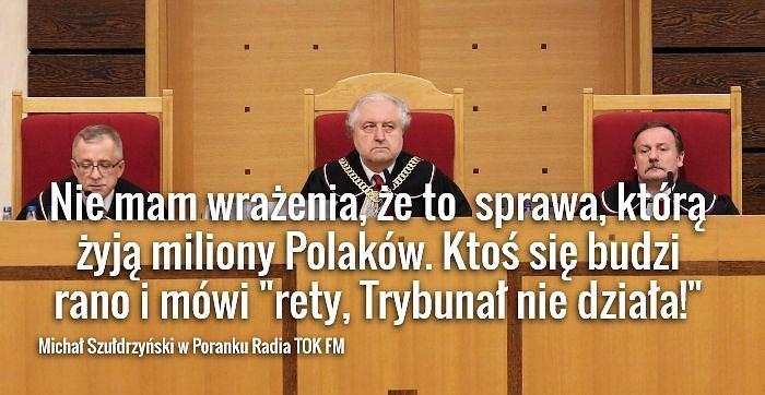 Andrzej Rzepliński w Trybunale Konstytucyjnym