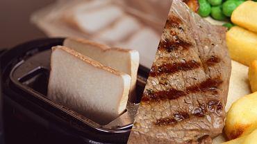 Tiktokerka usmażyła steki z tosterze. Komentujący: 'Abominacja'