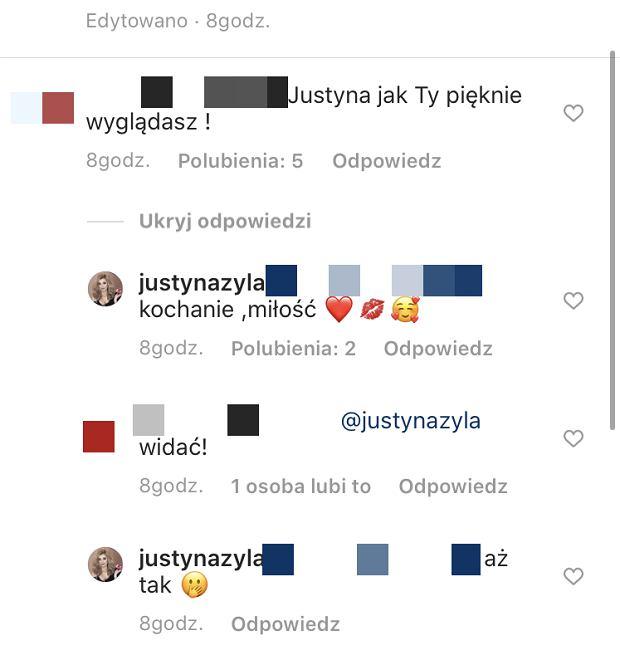 Justyna Żyła jest zakochana