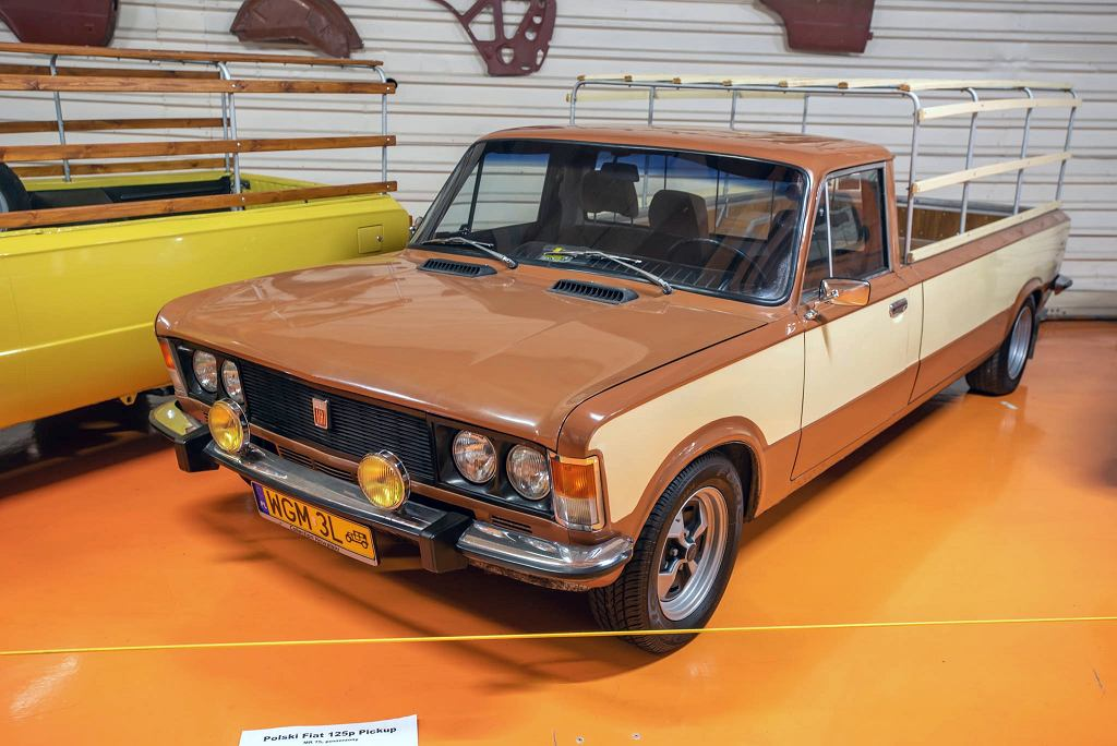 Polski Fiat 125 Pick-up