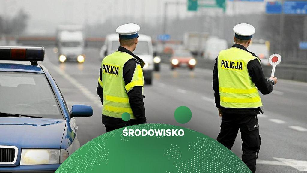 Policjanci przeprowadzą kontrolę emisji spalin