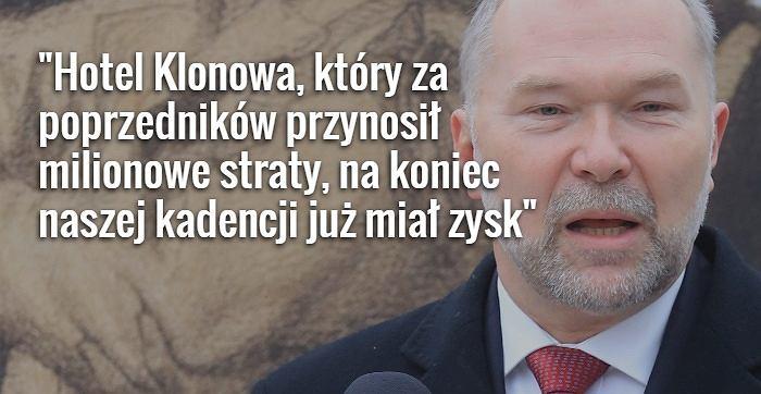 Były szef KPRP Jacek Michałowski