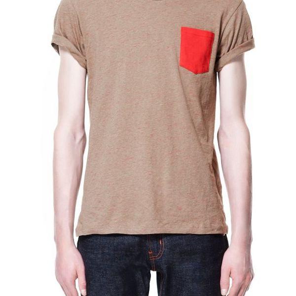 Koszulka z kolekcji Zara. Cena: 79,99 zł