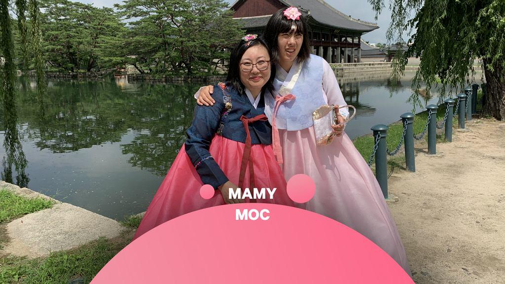 Inessa Kim z córką Olgą