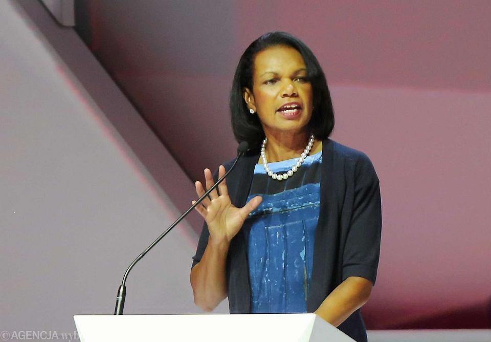 Condoleezza Rice na konferencji ABSL w Katowicach