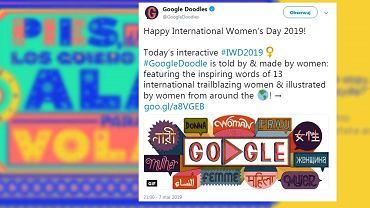 Doodle Google na Dzień Kobiet
