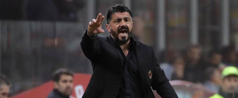 Gattuso skomentował porażkę Milanu i fatalne zachowanie swojego piłkarza