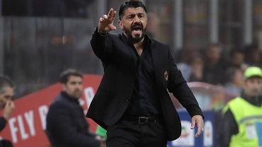 Gennaro Gattuso skomentował porażkę w derbach Mediolanu