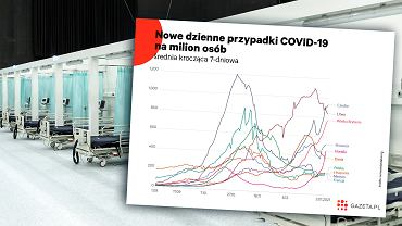 Koronawirus w Europie.