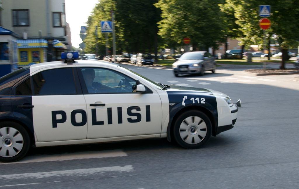Policja w Finlandii. Zdjęcie ilustracyjne
