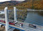 Nowy most extradosed otwarty w Polsce. Ponad 600 m przeprawy nad Dunajcem
