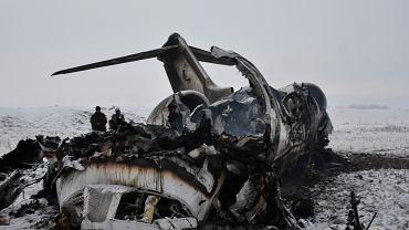Katastrofa samolotu w Afganistanie