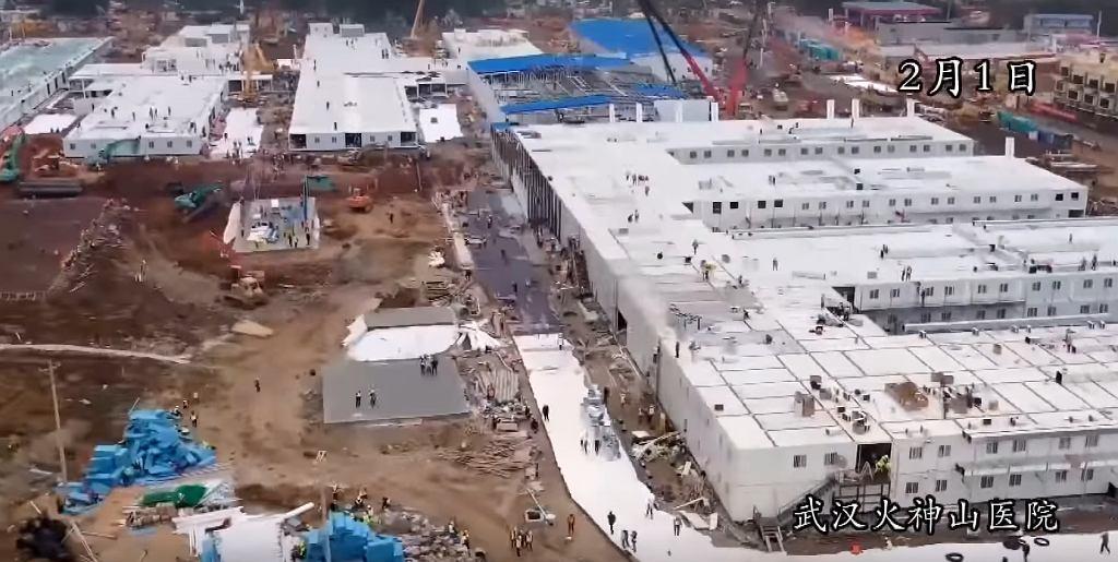 W 10 dni wybudowano szpital dla zakażonych koronawirusem w Chinach.