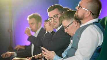Jerzy Michalak podczas konwencji inicjatywy 'Idzie nowe' w sierpniu ubiegłego roku