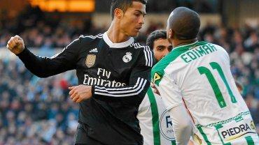 Ronaldo podczas meczu z Cordobą
