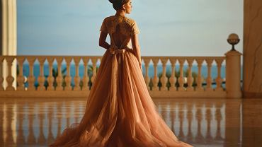 Tiulowa spódnica na wesele