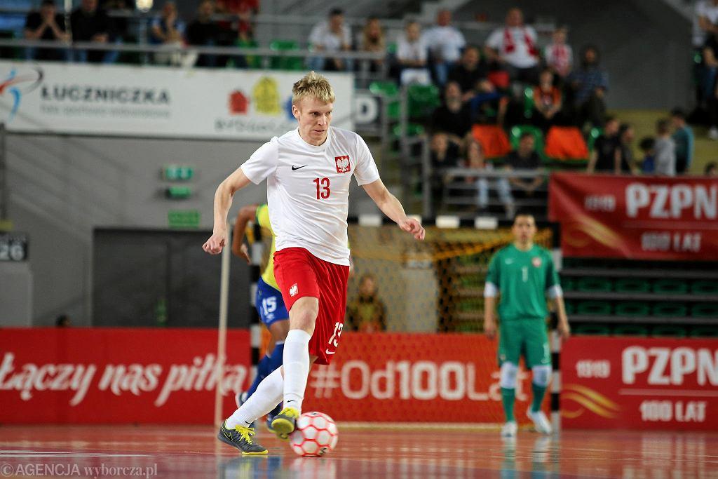 Mecz futsalu Polska - Brazylia
