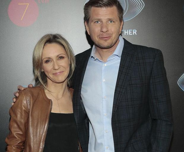 Małgorzata Ohme i Filip Chajzer