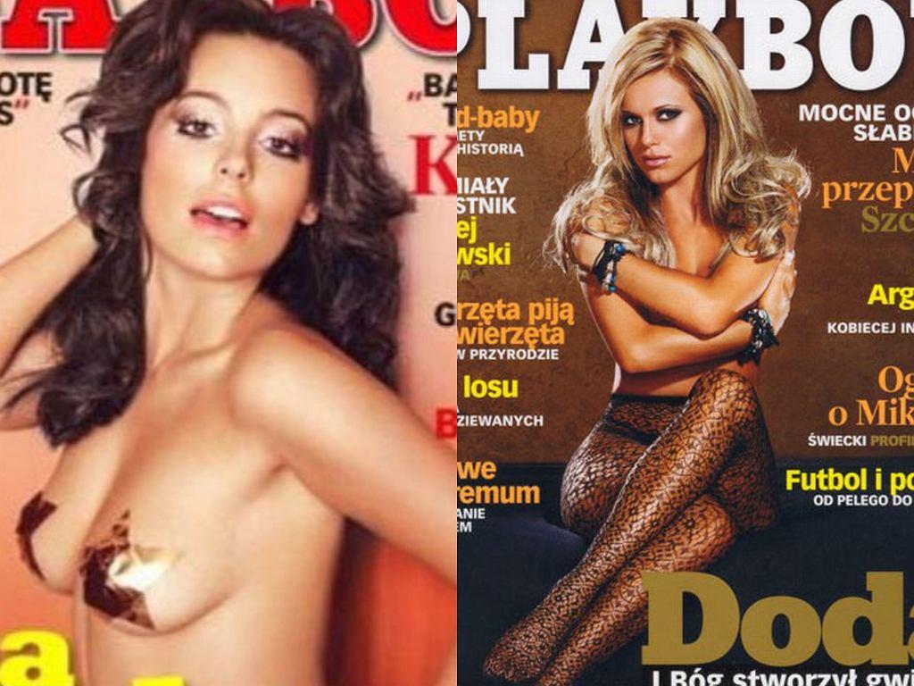 Anna Mucha i Doda na okładkach Playboya