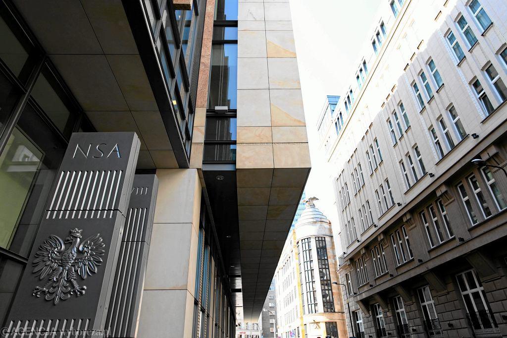 Siedziba Naczelnego Sądu Administracyjnego w Warszawie