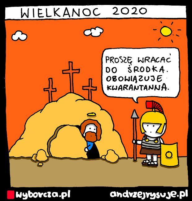 Andrzej Rysuje   WIELKANOC 2020 - Andrzej Rysuje   WIELKANOC 2020 -
