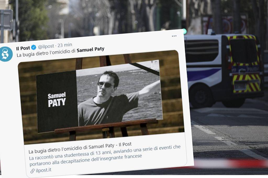 Zabójstwo Samuela Paty. 13-latka przyznała się do kłamstwa