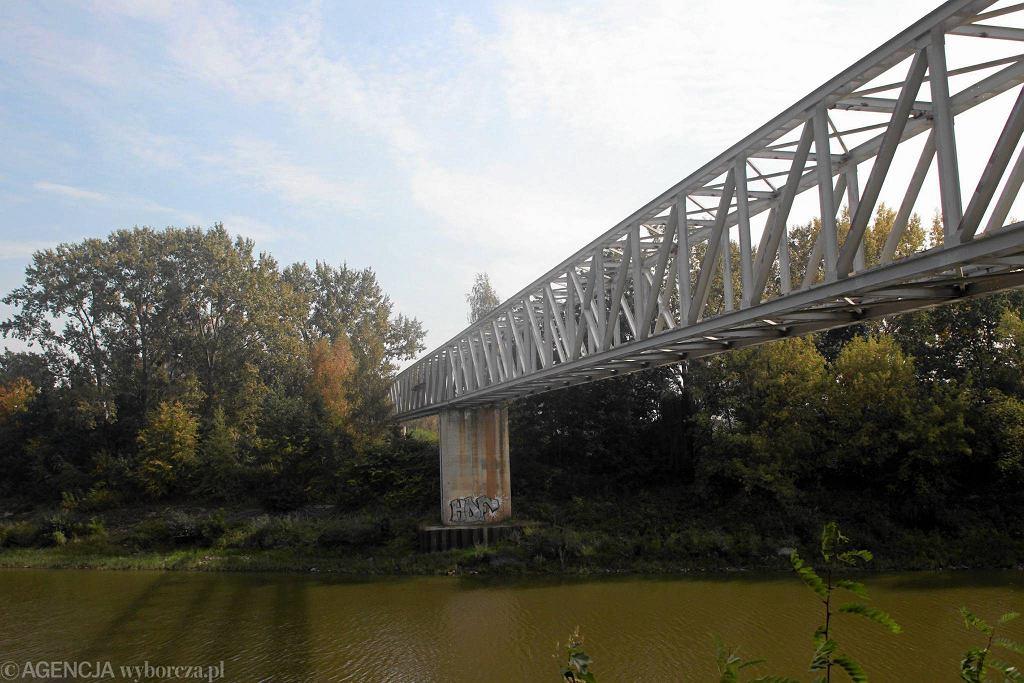 Mostek nad Kanałem Żerańskim dziś