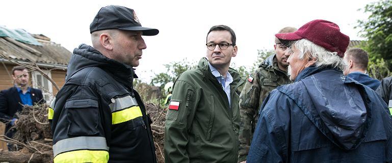 PiS reaguje na powódź. Premier nie jedzie do Radomia, Szydło przerywa kampanię