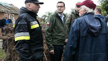 PiS reaguje na powódź. Mateusz Morawiecki odwołał wizytę w Radomiu, a Beata Szydło przerywa kampanię