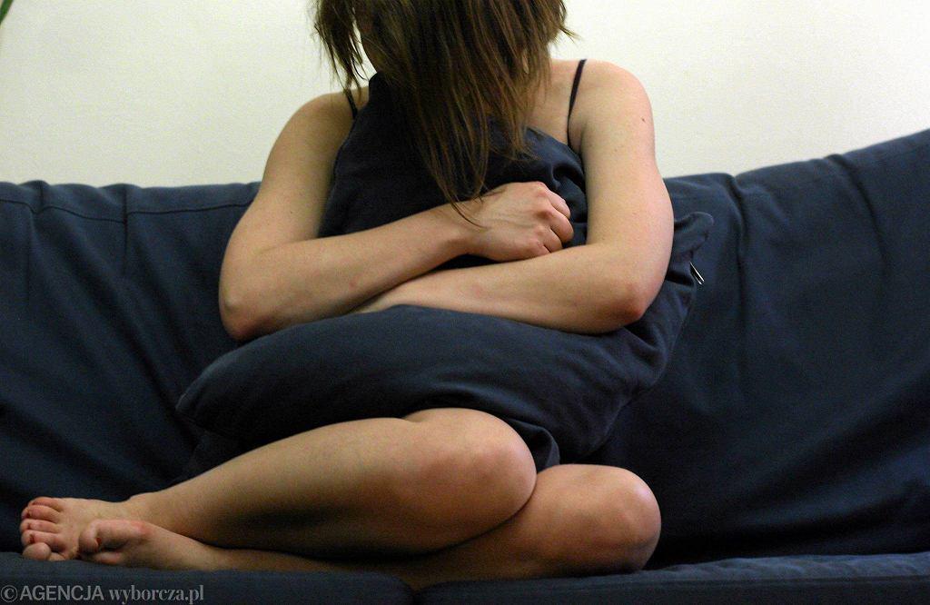 Ofiara przemocy (zdjęcie ilustracyjne)