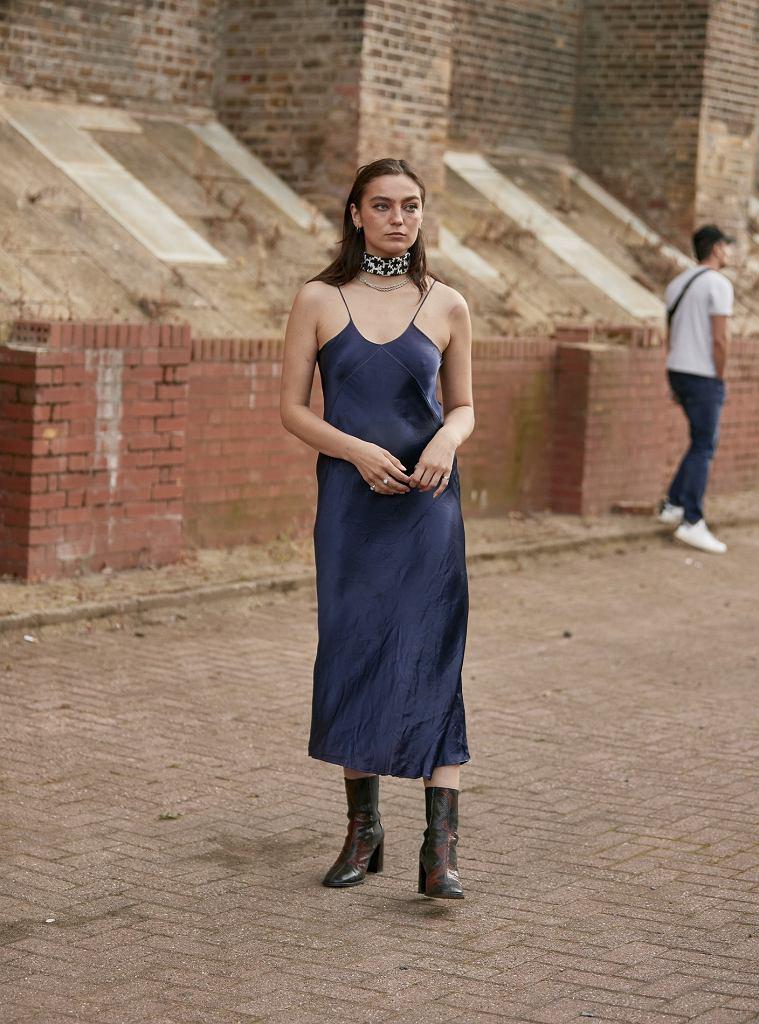 Jedwabne sukienki