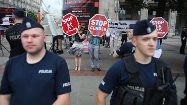 Parada Równości. Warszawa, 8 sierpnia 2019