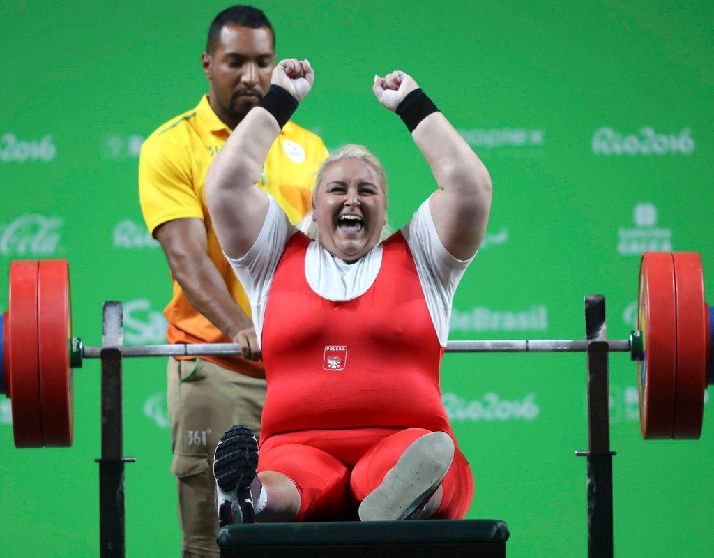 Marzena Zięba podczas igrzysk paraolimpijskich w Rio de Janeiro