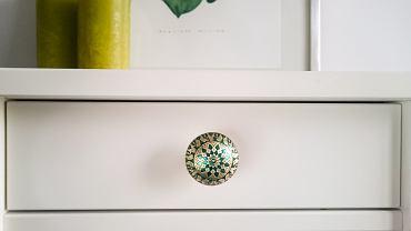 Ozdobne gałki do mebli - Orient Green