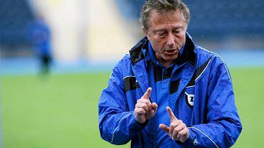 Zawisza - Arka 0:0. Trener Zawiszy Ryszard Tarasiewicz