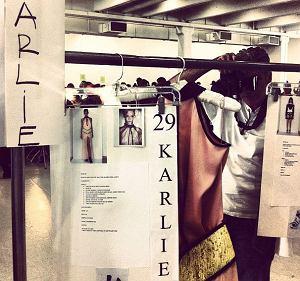 Prywatne zdjęcia modelek - New York Fashion Week