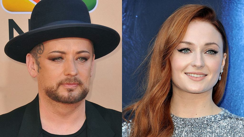 Boy George i Sophie Turner