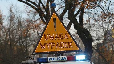 Wypadek w Gdowie w Małopolsce. Nie żyje 14-letni kierowca motoroweru